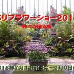 バリフラワーショー2018 奇跡の星の植物館