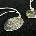 銀粘土で葉のペンダントを作ろう