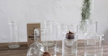 ガラス花瓶「BULB VASE」