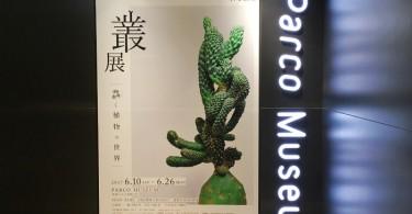 池袋パルコ「叢 – Qusamura 展 〜蠢く植物の世界〜」