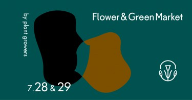 Flower & Green Market – by Plant growers -