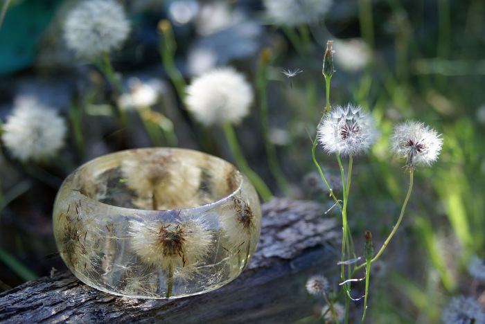 Modern Flower Child ハーバリウムのブレスレット