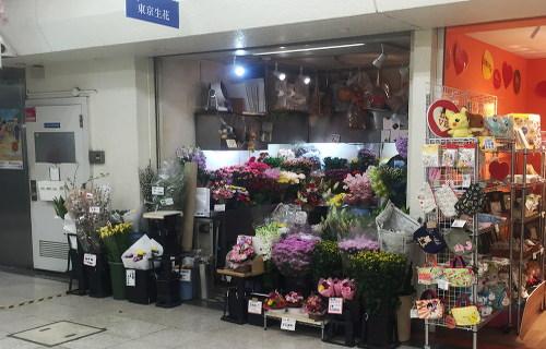店舗外観(2016年3月) 東京生花